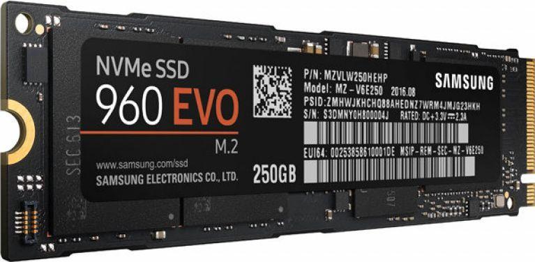 Samsung 960 EVO Series 250GB SSD-накопитель (MZ-V6E250BW)