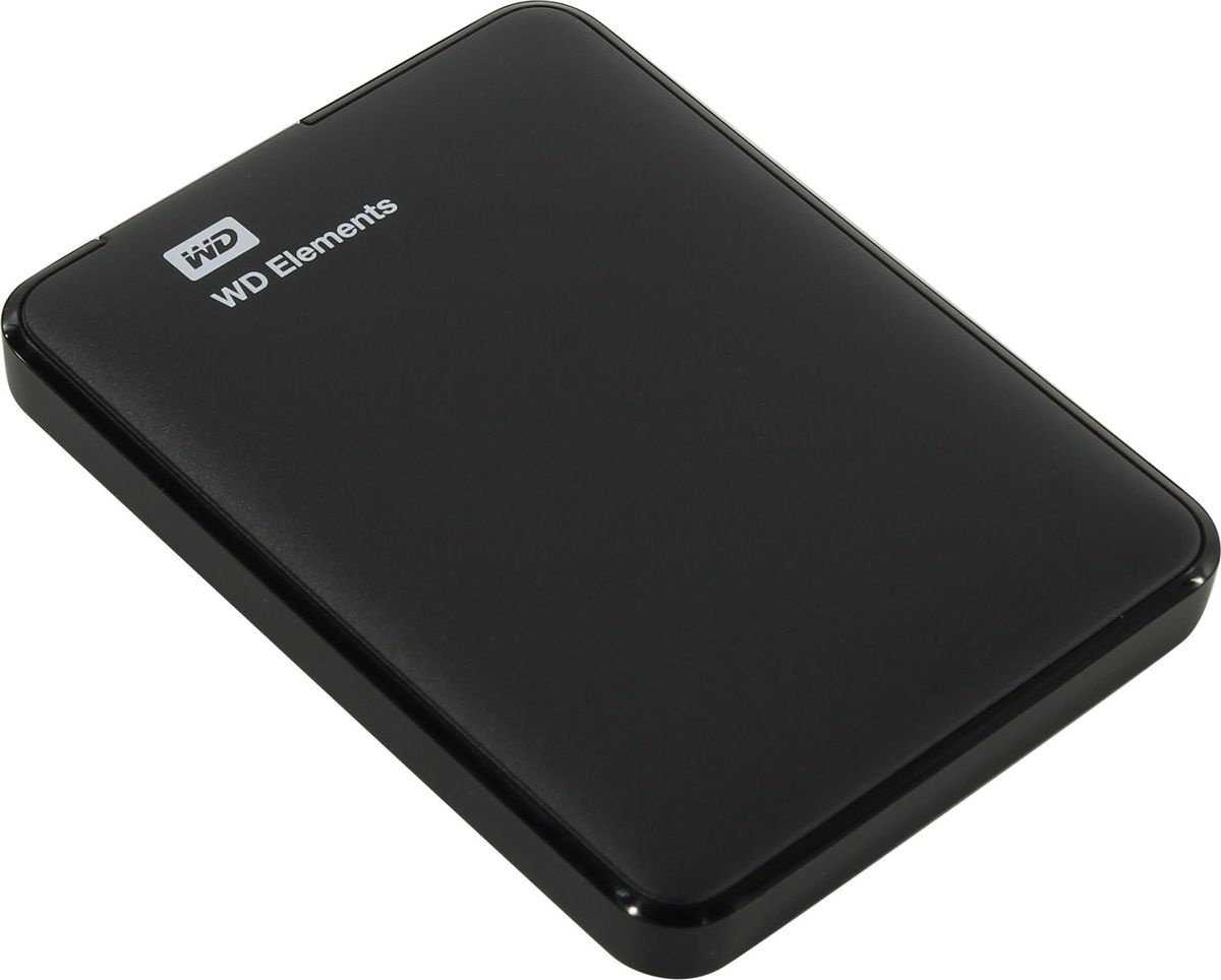 WD Elements 500GB HDD-накопитель (WDBUZG5000ABK-WESN) genuine wd 2 5 hard drive with external usb 2 0 enclosure 500gb