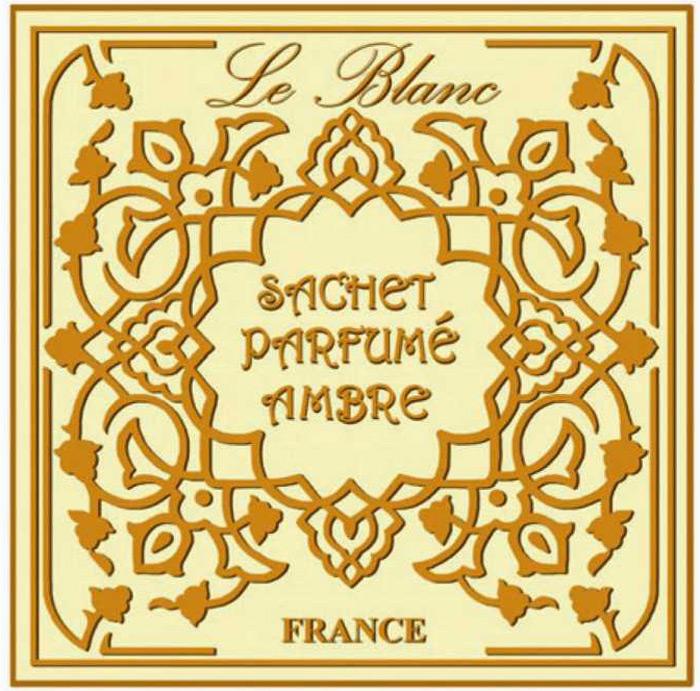 Саше ароматическое Le Blanc Амбра3760110096511Подарки от Le Blanc - это роскошь в мелочах, определяющих стиль. Эти изящные вещицы привносят в нашу жизнь тонкие, нежные ароматы, создают настроение легкости и воздушности. Саше относятся к разряду тех мелочей, благодаря которым создается настоящий уют в доме. Амбра – волшебный аромат, истинный алмаз парфюмерии, приносящий нам грёзы о таинственном и загадочном Востоке, с его непостижимой красотой и экзотической роскошью во всём, в том числе и в ароматах.