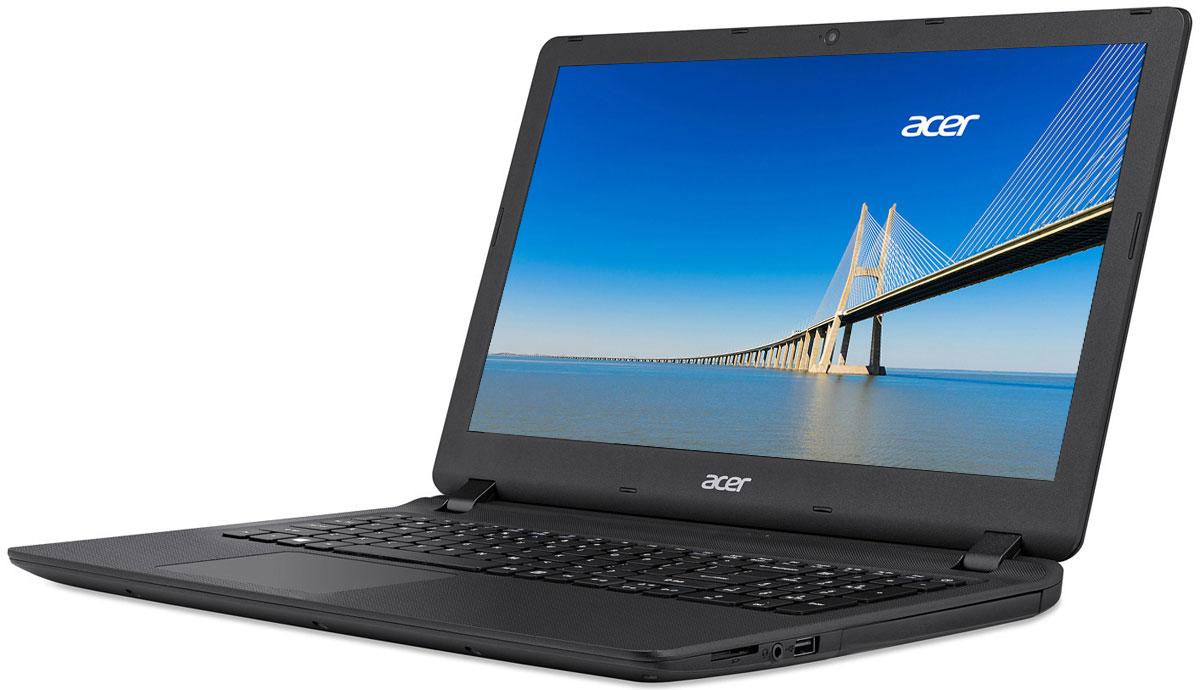 Acer Extensa EX2540-33E9, Black (NX.EFHER.005)NX.EFHER.005Acer Extensa EX2540 - идеальный ноутбук для бизнеса. Благодаря компактному дизайну и провереннымвременем технологиям, которые используются в ноутбуках этой серии, вы справитесь со всеми деловымизадачами, где бы вы ни находились.Тонкий корпус и длительная работа без подзарядки - вот что необходимо пользователям ноутбуков. AcerExtensa является одним из самых тонких устройств в своем классе и сочетает в себе невероятноудобный 15,6-дюймовый дисплей и потрясающую производительность.Наслаждайтесь качеством мультимедиа благодаря светодиодному дисплею с высоким разрешением инепревзойденной графике во время игры или просмотра фильма онлайн. Ноутбуки Aspire EX полностьюсоответствуют высоким аудио- и видеостандартам для работы со Skype. Благодаря оптимизированномуаппаратному обеспечению ваша речь воспроизводится четко и плавно - без задержек, фонового шума и эха.Оцените улучшенную поддержку жеста щипок, а также прокрутки и навигации по экрану, реализованную спомощью технологии Precision Touchpad, которая позволяет значительно снизить количество случайныхкасаний экрана и перемещений курсора. Удобное и эргономичное расположение клавиш на резиновойклавиатуре Acer позволяет быстро и бесшумно набирать нужный текст.Благодаря усовершенствованному цифровому микрофону и высококачественным динамикам, обеспечивающимпревосходное качество при проведении веб-конференций и онлайн-собраний, ноутбук Extensaпредоставляет идеальные возможности для общения. Технологии, которые использованы в этих ноутбукахпомогают сделать видеочаты с коллегами и клиентами максимально реалистичными, а также сократить расходына деловые поездки.Точные характеристики зависят от модели.Ноутбук сертифицирован EAC и имеет русифицированную клавиатуру и Руководство пользователя