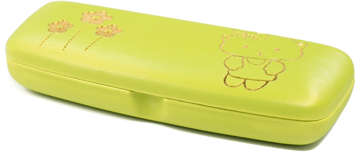 Футляр для очков для девочки Mitya Veselkov, цвет: зеленый. A-82.2c9ПластикОригинальный и качественный футляр для очков Mitya Veselkov из пластика и ткани, отличное и красивое решение проблемы пыльных очков. Храните ваши очки дома в футляре, а помимо того футляр послужит незаменимым аксессуаром при поездках.