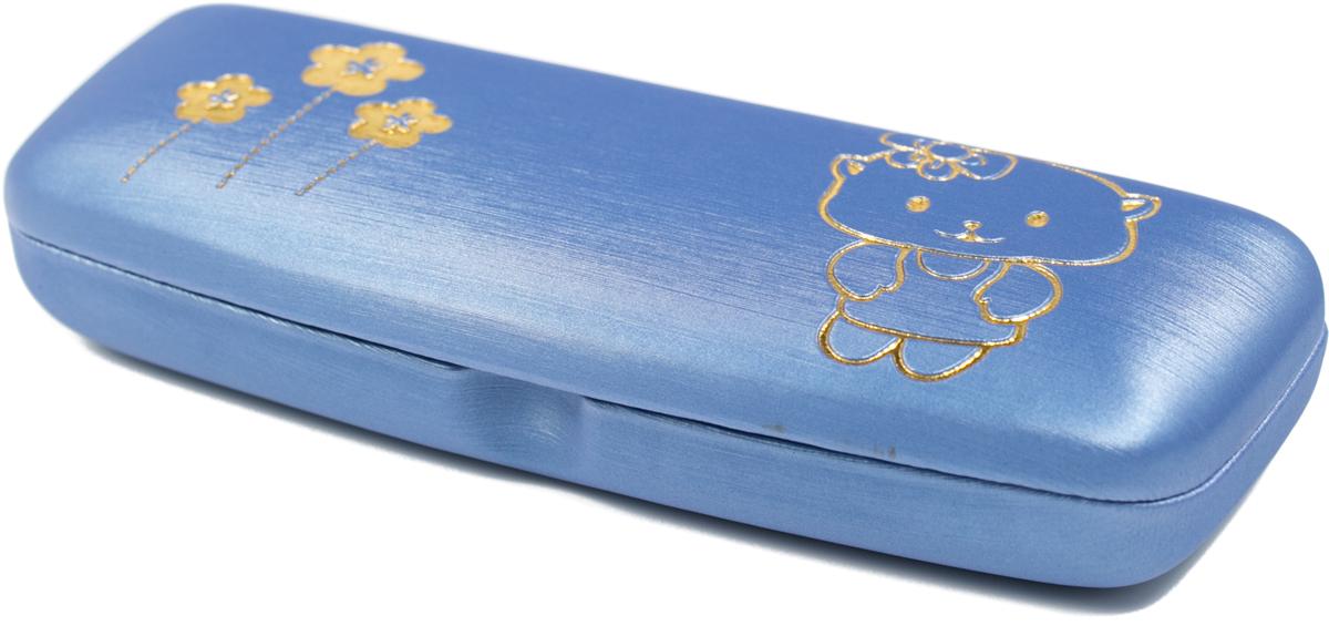 Футляр для очков для девочки Mitya Veselkov, цвет: синий. A82.2c10 футляр для очков бюро находок синий кит цвет синий