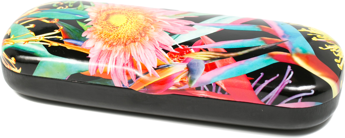 Футляр для очков женский Mitya Veselkov, цвет: розовый, голубой. CW-83.2c5 proffi home футляр для очков fabia monti овальный цвет голубой