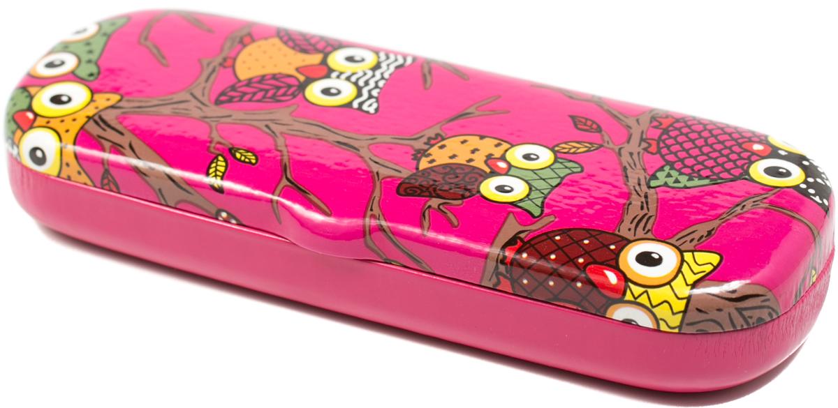 Футляр для очков для девочки Mitya Veselkov, цвет: розовый. CW-92c7ПластикОригинальный и качественный футляр для очков Mitya Veselkov из пластика и искусственной кожи, отличное и красивое решение проблемы пыльных очков. Храните ваши очки дома в футляре, а помимо того футляр послужит незаменимым аксессуаром при поездках.