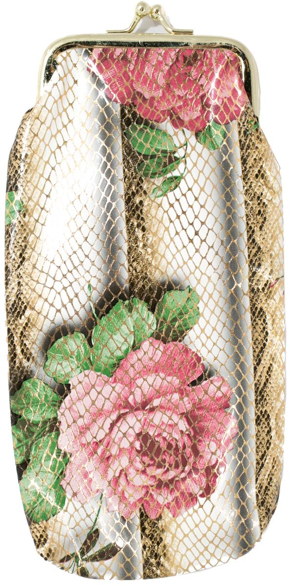 Футляр для очков женский Mitya Veselkov, цвет: розовый, зеленый. JL201.4c6 футляр для очков женский mitya veselkov цвет розовый ds 2039 1col 2