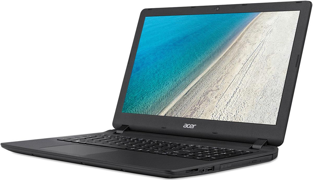Acer Extensa EX2540-33GH, Black (NX.EFHER.007)NX.EFHER.007Acer Extensa EX2540 - идеальный ноутбук для бизнеса. Благодаря компактному дизайну и провереннымвременем технологиям, которые используются в ноутбуках этой серии, вы справитесь со всеми деловымизадачами, где бы вы ни находились.Тонкий корпус и длительная работа без подзарядки - вот что необходимо пользователям ноутбуков. AcerExtensa является одним из самых тонких устройств в своем классе и сочетает в себе невероятноудобный 15,6-дюймовый дисплей и потрясающую производительность.Наслаждайтесь качеством мультимедиа благодаря светодиодному дисплею с высоким разрешением инепревзойденной графике во время игры или просмотра фильма онлайн. Ноутбуки Aspire EX полностьюсоответствуют высоким аудио- и видеостандартам для работы со Skype. Благодаря оптимизированномуаппаратному обеспечению ваша речь воспроизводится четко и плавно - без задержек, фонового шума и эха.Оцените улучшенную поддержку жеста щипок, а также прокрутки и навигации по экрану, реализованную спомощью технологии Precision Touchpad, которая позволяет значительно снизить количество случайныхкасаний экрана и перемещений курсора. Удобное и эргономичное расположение клавиш на резиновойклавиатуре Acer позволяет быстро и бесшумно набирать нужный текст.Благодаря усовершенствованному цифровому микрофону и высококачественным динамикам, обеспечивающимпревосходное качество при проведении веб-конференций и онлайн-собраний, ноутбук Extensaпредоставляет идеальные возможности для общения. Технологии, которые использованы в этих ноутбукахпомогают сделать видеочаты с коллегами и клиентами максимально реалистичными, а также сократить расходына деловые поездки.Точные характеристики зависят от модели.Ноутбук сертифицирован EAC и имеет русифицированную клавиатуру и Руководство пользователя