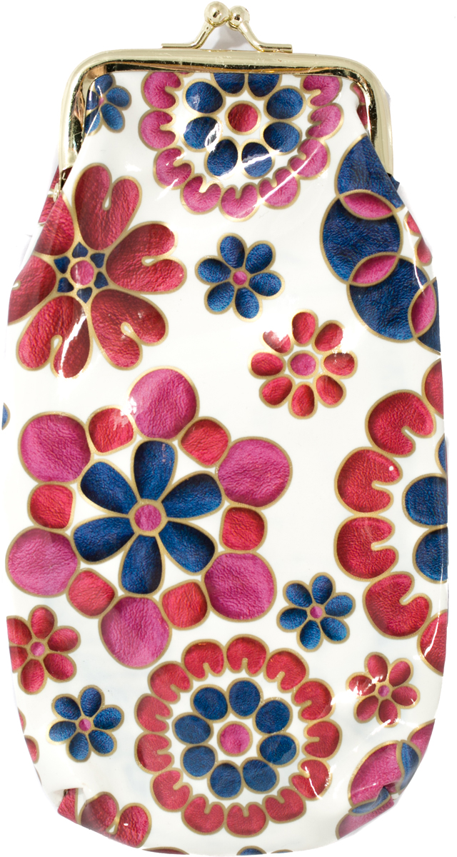 Футляр для очков женский Mitya Veselkov, цвет: белый, синий. JL201.2c14 футляр для картриджей 2 стилуса для приставки ds lite красно белый