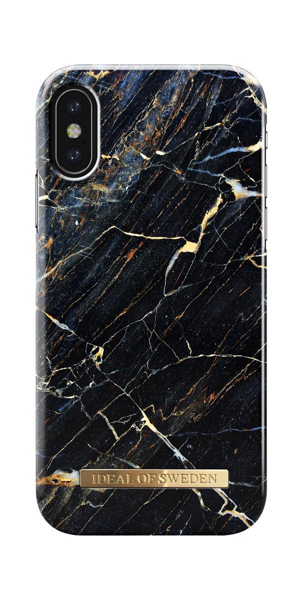 iDeal чехол для Apple iPhone X, Port Laurent MarbleIDFCA16-I8-49Клип-кейс iDeal – это модный аксессуар, стильное и оригинальное украшение, имеющее яркий дизайн, насыщенные цвета и необычный узор, в сочетании с высокой степенью защиты мобильного устройства, сохраняет привлекательный внешний вид и подчеркивает индивидуальный стиль, а также изысканный вкус владельца.Чехол-накладка iDeal - это надежная защита корпуса смартфона от царапин и внешних воздействий. Конструкция чехла обеспечивает его надежное крепление на корпусе мобильного устройства.Специальные вырезы обеспечивают свободный доступ к разъемам и элементам управления, а также позволяют в любой удобный момент вести фото- и видеосъемку. Устойчивый к истиранию пластик клип-кейса надолго сохраняет привлекательный внешний вид и не теряет насыщенность цветов. Аксессуар выполнен из пластика, который имеет среднюю степень жесткости.Изнутри накладка покрыта замшей, чтобы обеспечить корпусу смартфона дополнительную защиту от царапин.