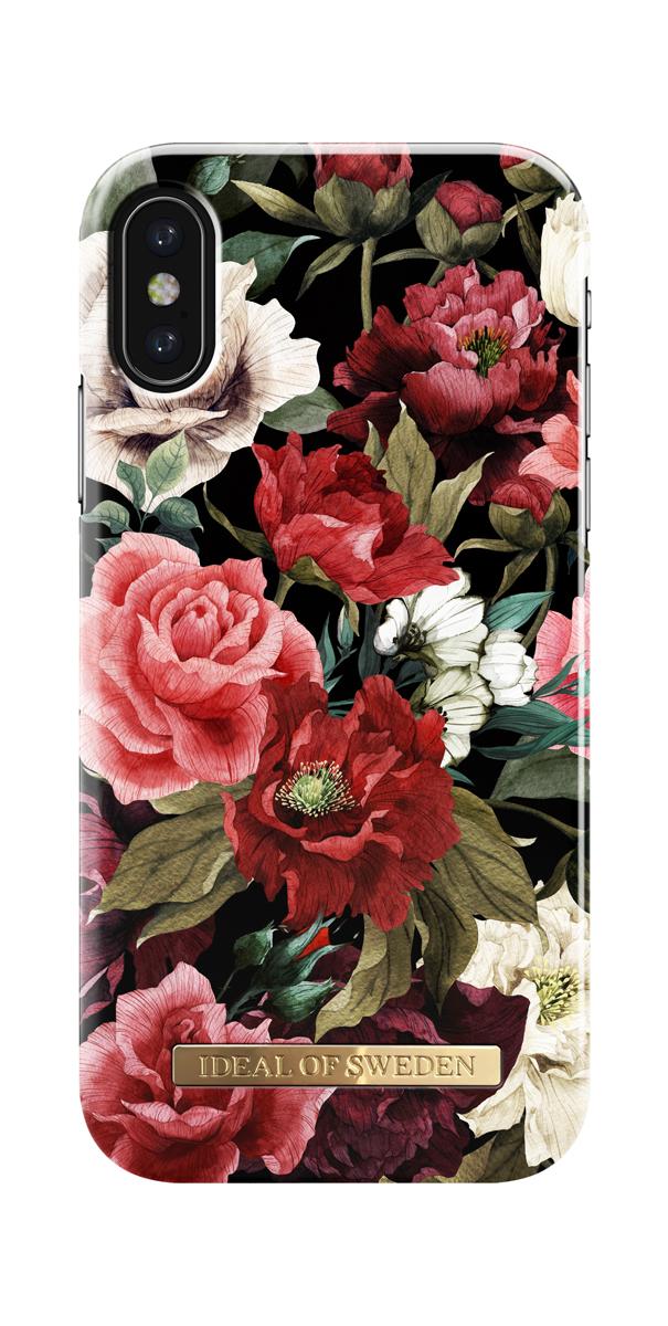 iDeal чехол для Apple iPhone X, Antique RosesIDFCS17-I8-63Клип-кейс iDeal – это модный аксессуар, стильное и оригинальное украшение, имеющее яркий дизайн, насыщенные цвета и необычный узор, в сочетании с высокой степенью защиты мобильного устройства, сохраняет привлекательный внешний вид и подчеркивает индивидуальный стиль, а также изысканный вкус владельца.Чехол-накладка iDeal - это надежная защита корпуса смартфона от царапин и внешних воздействий. Конструкция чехла обеспечивает его надежное крепление на корпусе мобильного устройства.Специальные вырезы обеспечивают свободный доступ к разъемам и элементам управления, а также позволяют в любой удобный момент вести фото- и видеосъемку. Устойчивый к истиранию пластик клип-кейса надолго сохраняет привлекательный внешний вид и не теряет насыщенность цветов. Аксессуар выполнен из пластика, который имеет среднюю степень жесткости.Изнутри накладка покрыта замшей, чтобы обеспечить корпусу смартфона дополнительную защиту от царапин.