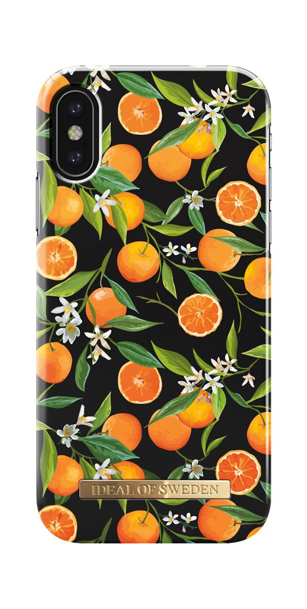 iDeal чехол для Apple iPhone X, Tropical FallIDFCS17-I8-64Клип-кейс iDeal – это модный аксессуар, стильное и оригинальное украшение, имеющее яркий дизайн, насыщенные цвета и необычный узор, в сочетании с высокой степенью защиты мобильного устройства, сохраняет привлекательный внешний вид и подчеркивает индивидуальный стиль, а также изысканный вкус владельца.Чехол-накладка iDeal - это надежная защита корпуса смартфона от царапин и внешних воздействий. Конструкция чехла обеспечивает его надежное крепление на корпусе мобильного устройства.Специальные вырезы обеспечивают свободный доступ к разъемам и элементам управления, а также позволяют в любой удобный момент вести фото- и видеосъемку. Устойчивый к истиранию пластик клип-кейса надолго сохраняет привлекательный внешний вид и не теряет насыщенность цветов. Аксессуар выполнен из пластика, который имеет среднюю степень жесткости.Изнутри накладка покрыта замшей, чтобы обеспечить корпусу смартфона дополнительную защиту от царапин.