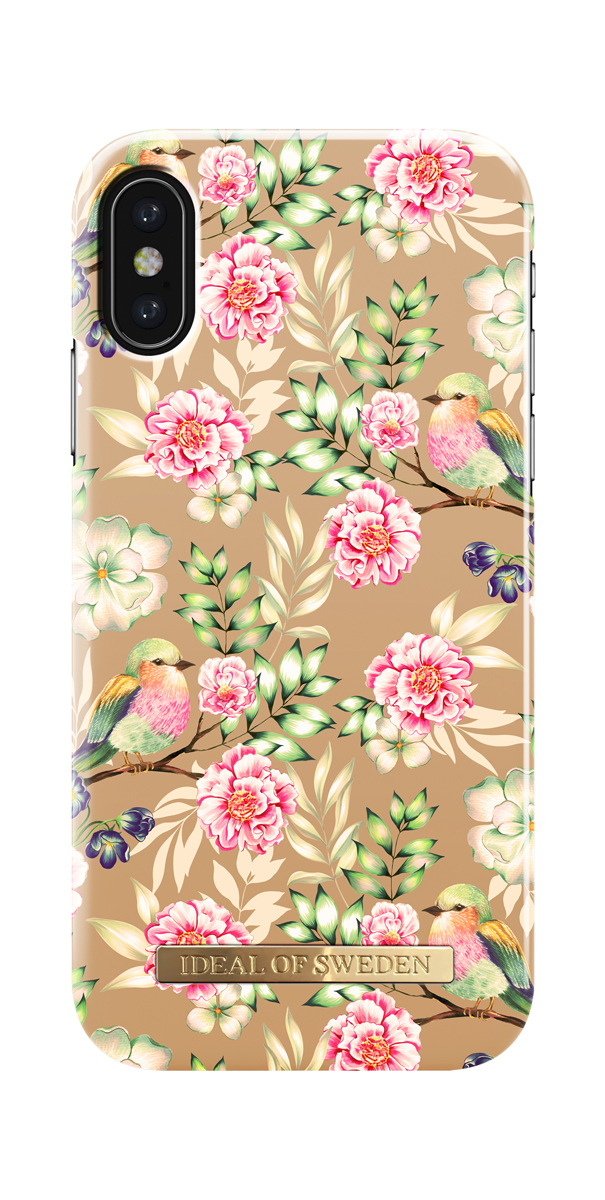 iDeal чехол для Apple iPhone X, Champagne BirdsIDFCS17-I8-65Клип-кейс iDeal – это модный аксессуар, стильное и оригинальное украшение, имеющее яркий дизайн, насыщенные цвета и необычный узор, в сочетании с высокой степенью защиты мобильного устройства, сохраняет привлекательный внешний вид и подчеркивает индивидуальный стиль, а также изысканный вкус владельца.Чехол-накладка iDeal - это надежная защита корпуса смартфона от царапин и внешних воздействий. Конструкция чехла обеспечивает его надежное крепление на корпусе мобильного устройства.Специальные вырезы обеспечивают свободный доступ к разъемам и элементам управления, а также позволяют в любой удобный момент вести фото- и видеосъемку. Устойчивый к истиранию пластик клип-кейса надолго сохраняет привлекательный внешний вид и не теряет насыщенность цветов. Аксессуар выполнен из пластика, который имеет среднюю степень жесткости.Изнутри накладка покрыта замшей, чтобы обеспечить корпусу смартфона дополнительную защиту от царапин.