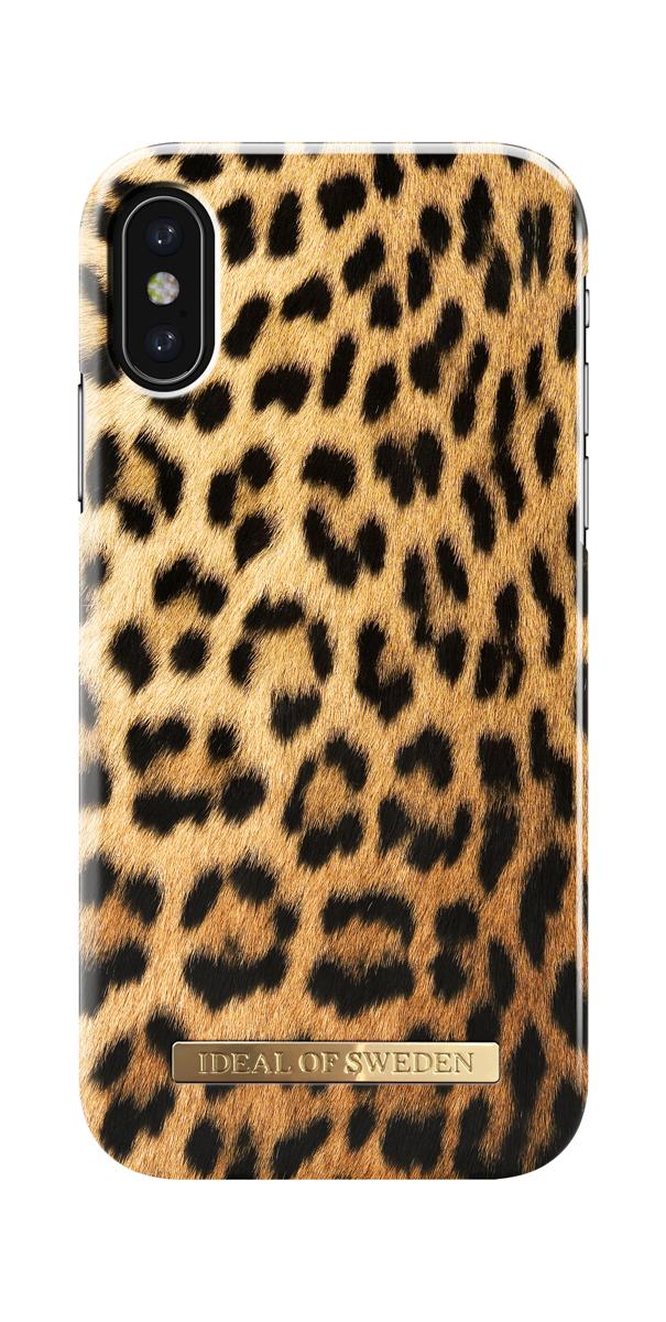 iDeal чехол для Apple iPhone X, Wild LeopardIDFCS17-I8-67Клип-кейс iDeal – это модный аксессуар, стильное и оригинальное украшение, имеющее яркий дизайн, насыщенные цвета и необычный узор, в сочетании с высокой степенью защиты мобильного устройства, сохраняет привлекательный внешний вид и подчеркивает индивидуальный стиль, а также изысканный вкус владельца.Чехол-накладка iDeal - это надежная защита корпуса смартфона от царапин и внешних воздействий. Конструкция чехла обеспечивает его надежное крепление на корпусе мобильного устройства.Специальные вырезы обеспечивают свободный доступ к разъемам и элементам управления, а также позволяют в любой удобный момент вести фото- и видеосъемку. Устойчивый к истиранию пластик клип-кейса надолго сохраняет привлекательный внешний вид и не теряет насыщенность цветов. Аксессуар выполнен из пластика, который имеет среднюю степень жесткости.Изнутри накладка покрыта замшей, чтобы обеспечить корпусу смартфона дополнительную защиту от царапин.
