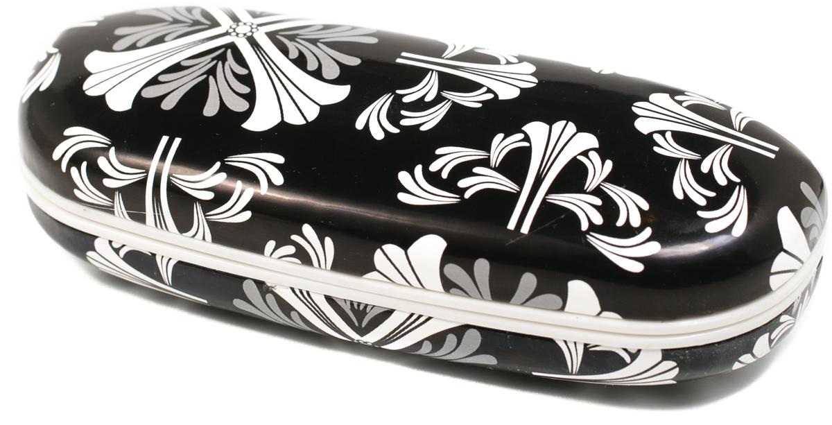 Футляр для очков женский Mitya Veselkov, цвет: черный, белый. X-836c14