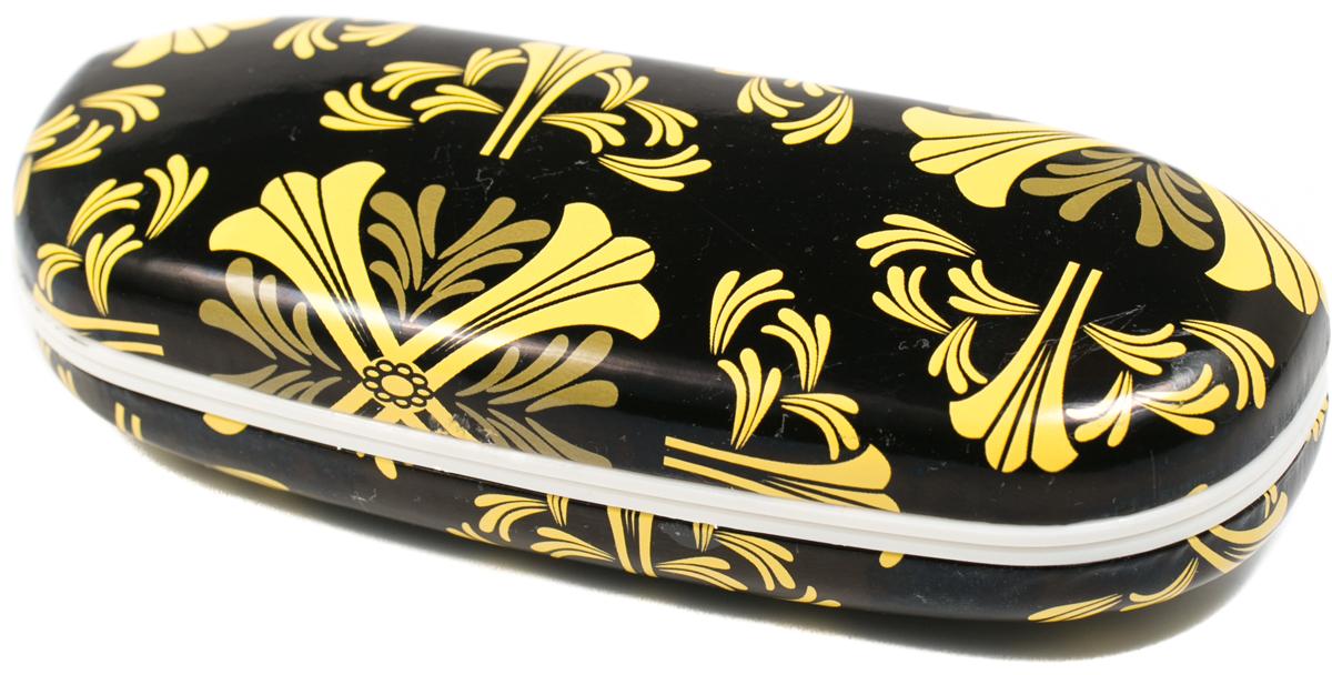 Футляр для очков женский Mitya Veselkov, цвет: черный, желтый. X-836c16ПластикОригинальный и качественный футляр для очков Mitya Veselkov из пластика и искусственной кожи, отличное и красивое решение проблемы пыльных очков. Храните ваши очки дома в футляре, а помимо того футляр послужит незаменимым аксессуаром при поездках.