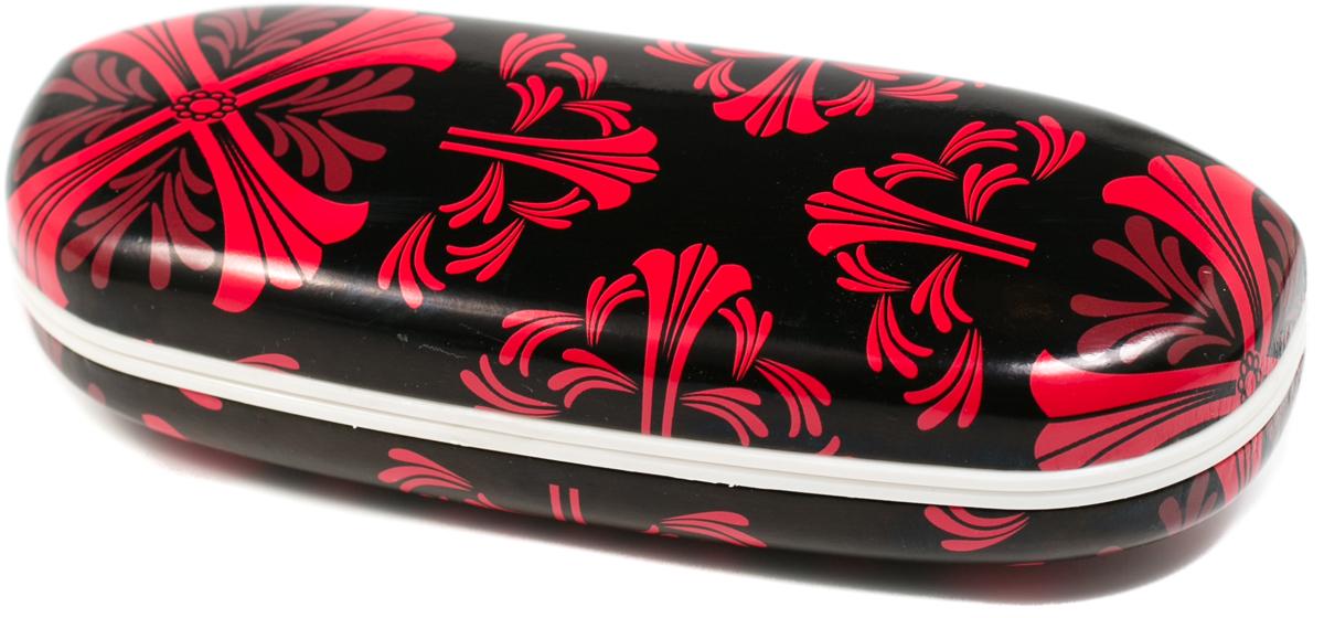 Футляр для очков женский Mitya Veselkov, цвет: черный, красный. X-836c6 футляр для очков женский mitya veselkov цвет черный b229c5