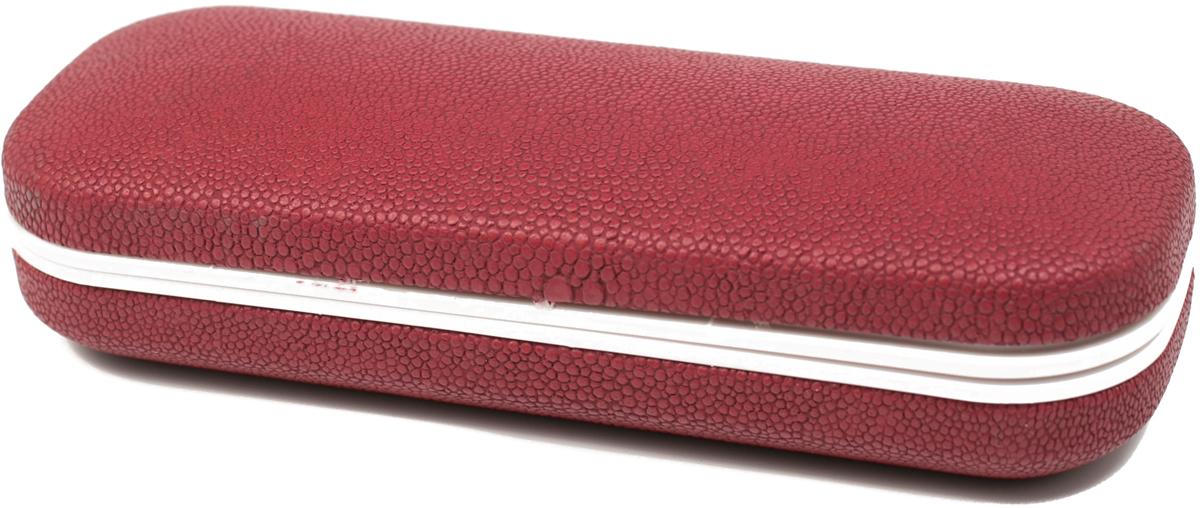 Футляр для очков женский Mitya Veselkov, цвет: бордовый. X-838c6 proffi home футляр для очков fabia monti цвет бордовый