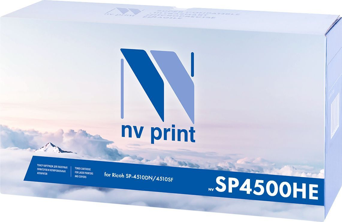NV Print NV-SP4500HE, Black тонер-картридж для Ricoh SP-4510DN/4510SF мфу ricoh sp 4510sf