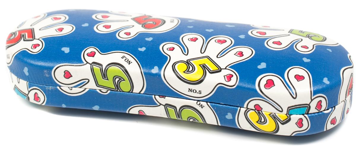 Футляр для очков женский Mitya Veselkov, цвет: синий. SC-010.2c10 футляр для очков бюро находок синий кит цвет синий