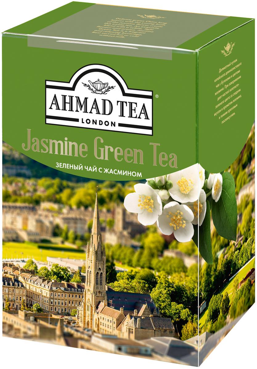 Ahmad Tea зеленый чай с жасмином, 200 г pediasure смесь со вкусом ванили с 12 месяцев 200 мл