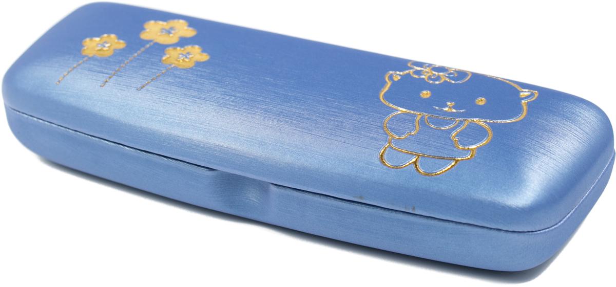 Футляр для очков для девочки Mitya Veselkov, цвет: синий. A-82.2c10 proffi home футляр для очков fabia monti цвет бордовый