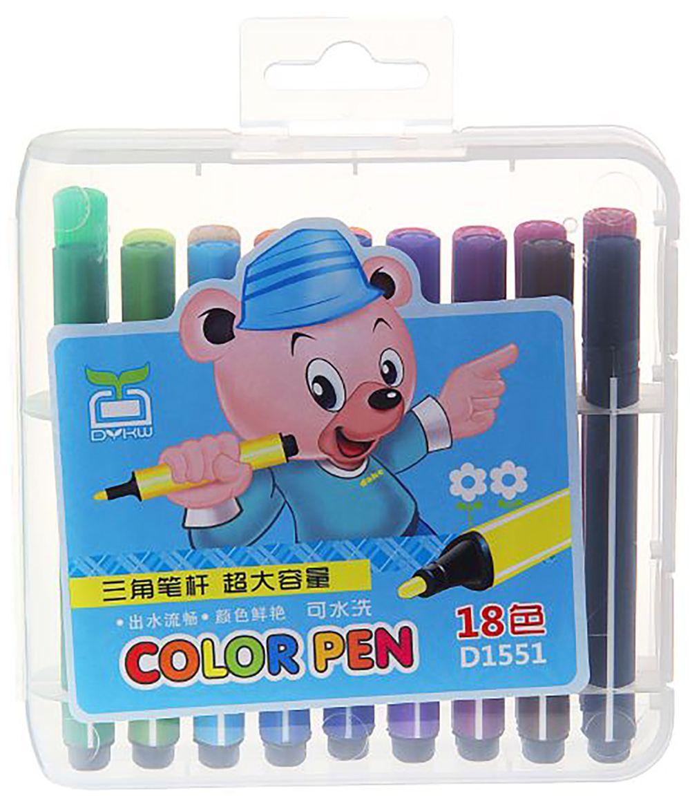 Набор толстых фломастеров цвет упаковки голубой 18 цветов 641140641140Толстые фломастеры придуманы для комфорта и удобства детей. Фломастеры имеют особый утолщённый корпус, который снижает усталость кисти ребёнка в процессе рисования.Кроме разнообразия цветовой палитры, к их достоинствам можно отнести абсолютную безопасность для детского здоровья и соответствие всем российским стандартам качества.Оформите заказ сейчас и узнайте условия бесплатной доставки.