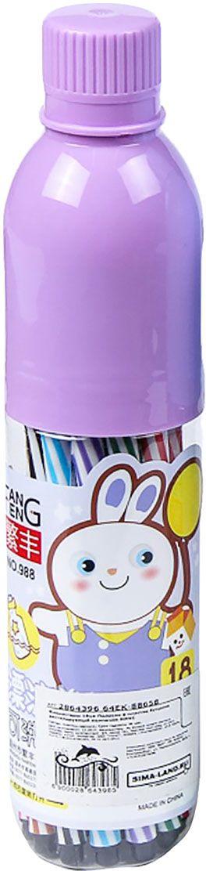Набор фломастеров Полоски цвет упаковки фиолетовый 18 цветов 28643962864396Почему дети так любят рисовать фломастерами? Юных художников прельщает не только бесконечная тяга к творчеству, но также практичность и эргономичность при использовании пишущих инструментов.В отличие от карандашей, фломастеры не нуждаются в заточке и не требуют усилий для создания ярких линий. Перед красками у них преимущество в том, что изображения сразу получаются чёткими, а насыщенность цвета нисколько не уступает гуаши.Простота, в мгновение ока создающая красоту, — вот что по-настоящему привлекает маленьких творцов!Как выбрать подходящий фломастер? Необходимо учитывать сразу несколько аспектов: тип чернил (водная или спиртовая основа), вид наконечника (пластик или синтетические волокна, толстый или тонкий), тип корпуса (полистирол или полипропилен) и даже колпачок (крупный или мелкий).Фломастеры— это превосходный выбор для создания мини-шедевров с мини-затратами. Высококачественное изделие направит весь творческий потенциал ребёнка в нужное русло.