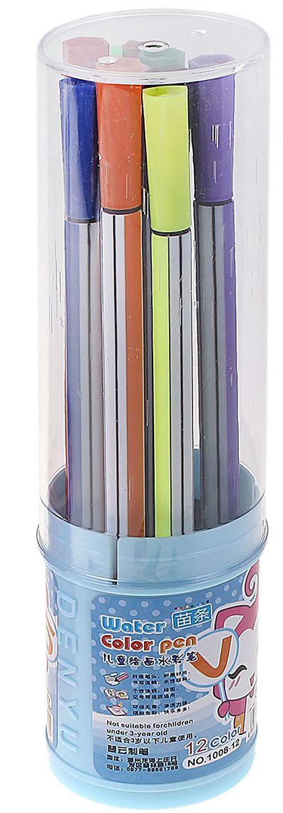 Набор фломастеров Полоска цвет упаковки голубой 12 цветов 641129641129Рисовать фломастерами - для детей огромное удовольствие. Любой рисунок становится живым и насыщенным благодаря качественным фломастерам. Кроме того, они способствуют развитию детской моторики и раскрывают творческий потенциал малыша.Фломастеры– отлично зарекомендовали себя среди детей и взрослых. Они идеально подходят для рисования благодаря своей яркой и сочной палитре, легко отстирываются от одежды и кожи, а также имеют прочный пластиковый корпус и пишущий узел.Приобретайте только качественные фломастеры для своих малышей, дарите им удовольствие.