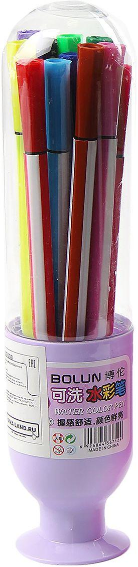 Набор фломастеров Вазочка цвет упаковки фиолетовый 12 цветов 28704792870479очему дети так любят рисовать фломастерами? Юных художников прельщает не только бесконечная тяга к творчеству, но также практичность и эргономичность при использовании пишущих инструментов.В отличие от карандашей, фломастеры не нуждаются в заточке и не требуют усилий для создания ярких линий. Перед красками у них преимущество в том, что изображения сразу получаются чёткими, а насыщенность цвета нисколько не уступает гуаши.Простота, в мгновение ока создающая красоту, — вот что по-настоящему привлекает маленьких творцов!Как выбрать подходящий фломастер? Необходимо учитывать сразу несколько аспектов: тип чернил (водная или спиртовая основа), вид наконечника (пластик или синтетические волокна, толстый или тонкий), тип корпуса (полистирол или полипропилен) и даже колпачок (крупный или мелкий).Фломастеры— это превосходный выбор для создания мини-шедевров с мини-затратами. Высококачественное изделие направит весь творческий потенциал ребёнка в нужное русло.