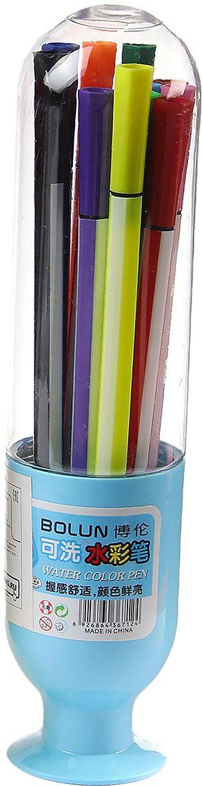 Набор фломастеров Вазочка цвет упаковки голубой 12 цветов 28704792870479очему дети так любят рисовать фломастерами? Юных художников прельщает не только бесконечная тяга к творчеству, но также практичность и эргономичность при использовании пишущих инструментов.В отличие от карандашей, фломастеры не нуждаются в заточке и не требуют усилий для создания ярких линий. Перед красками у них преимущество в том, что изображения сразу получаются чёткими, а насыщенность цвета нисколько не уступает гуаши.Простота, в мгновение ока создающая красоту, — вот что по-настоящему привлекает маленьких творцов!Как выбрать подходящий фломастер? Необходимо учитывать сразу несколько аспектов: тип чернил (водная или спиртовая основа), вид наконечника (пластик или синтетические волокна, толстый или тонкий), тип корпуса (полистирол или полипропилен) и даже колпачок (крупный или мелкий).Фломастеры— это превосходный выбор для создания мини-шедевров с мини-затратами. Высококачественное изделие направит весь творческий потенциал ребёнка в нужное русло.