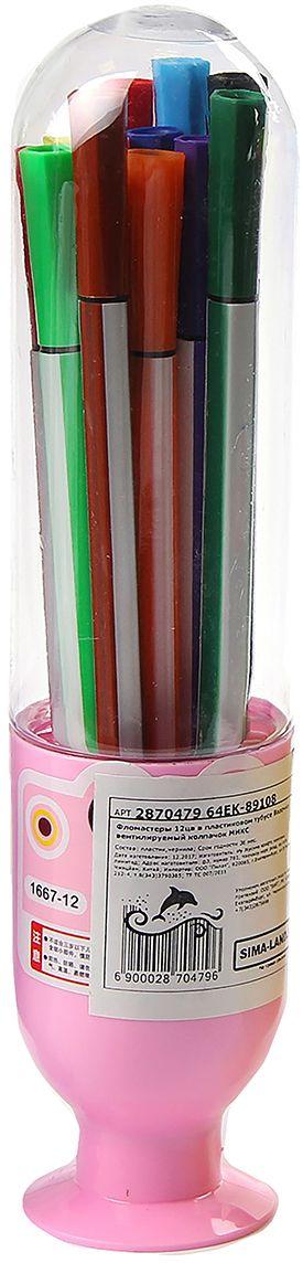 Набор фломастеров Вазочка цвет упаковки розовый 12 цветов 28704792870479очему дети так любят рисовать фломастерами? Юных художников прельщает не только бесконечная тяга к творчеству, но также практичность и эргономичность при использовании пишущих инструментов.В отличие от карандашей, фломастеры не нуждаются в заточке и не требуют усилий для создания ярких линий. Перед красками у них преимущество в том, что изображения сразу получаются чёткими, а насыщенность цвета нисколько не уступает гуаши.Простота, в мгновение ока создающая красоту, — вот что по-настоящему привлекает маленьких творцов!Как выбрать подходящий фломастер? Необходимо учитывать сразу несколько аспектов: тип чернил (водная или спиртовая основа), вид наконечника (пластик или синтетические волокна, толстый или тонкий), тип корпуса (полистирол или полипропилен) и даже колпачок (крупный или мелкий).Фломастеры— это превосходный выбор для создания мини-шедевров с мини-затратами. Высококачественное изделие направит весь творческий потенциал ребёнка в нужное русло.