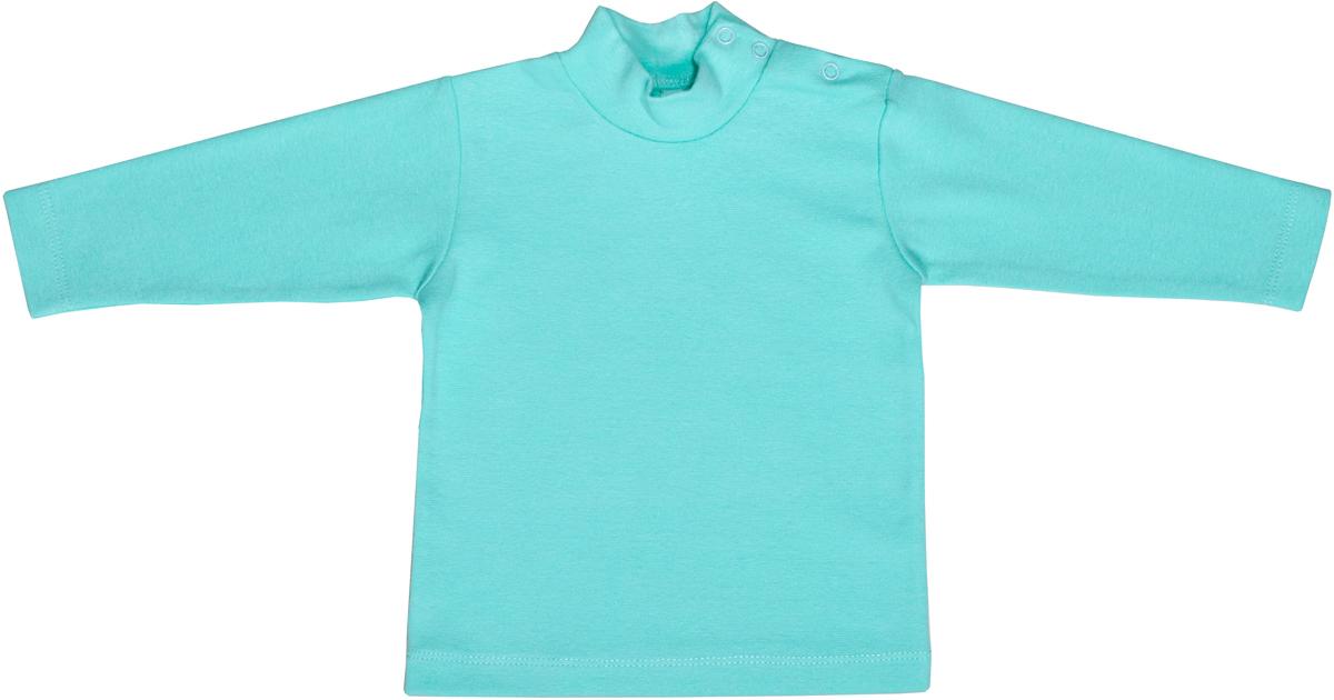 Водолазка для девочки Мамуляндия Ежата, цвет: зеленый. 17-1011. Размер 80 водолазка для девочки мамуляндия мечта цвет розовый 17 2802 размер 80