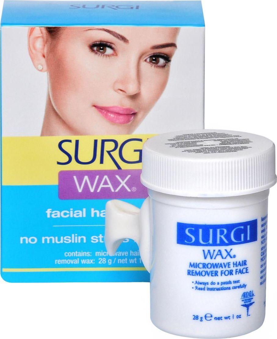 Surgi Wax Facial Воск для удаления волос на лице полоски для депиляции surgi набор assorted honey facial wax strips