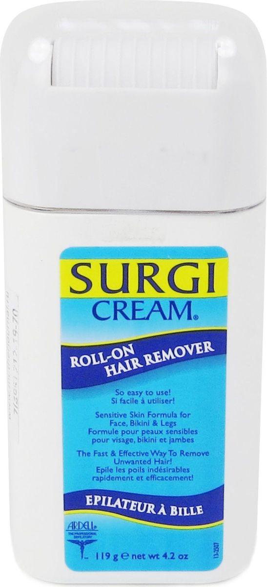 Surgi Roll-on Hair Remover Крем для удаления волос на лице, ногах и зоне бикини
