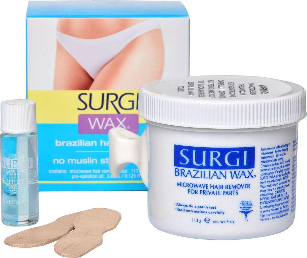 Surgi Brazilian Hard Wax Бразильский воск для интимных зон - Бритье и депиляция