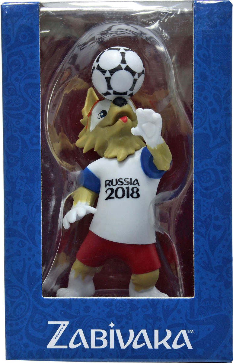 FIFA-2018 Фигурка Волк Забивака Header сувенир волк