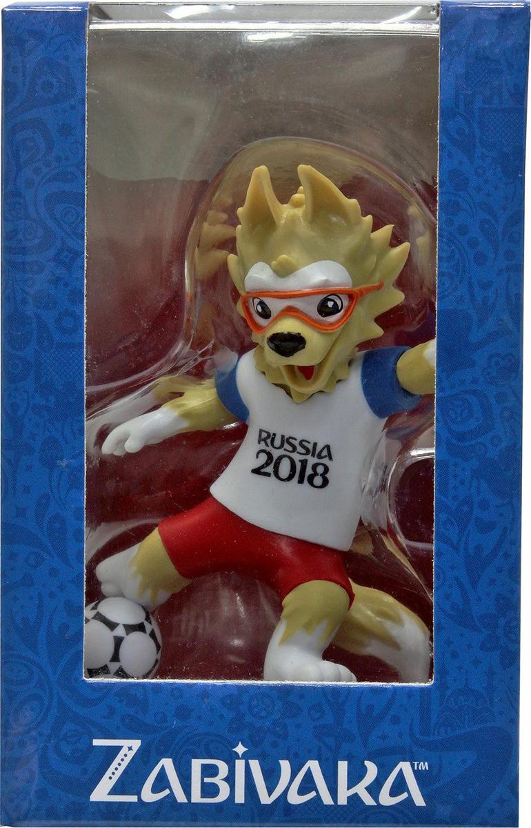 FIFA-2018 Фигурка Волк Забивака Kicking сувенир волк