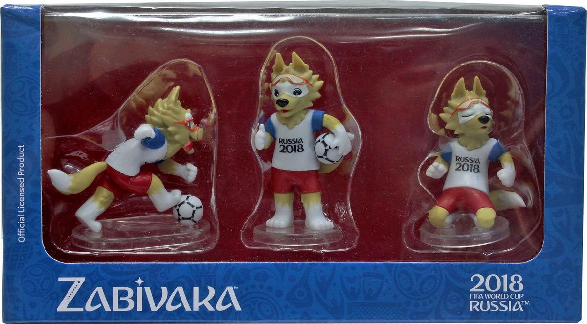 FIFA-2018 Набор фигурок Волк Забивака № 1 Standard 3 шт warcraft набор фигурок лотар чернорук грифон и волк 4 шт