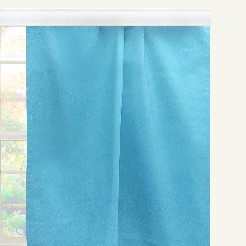 """Штора Altali """"Волна"""", на ленте, цвет: голубой, высота 270 см. P708-Z145/1"""