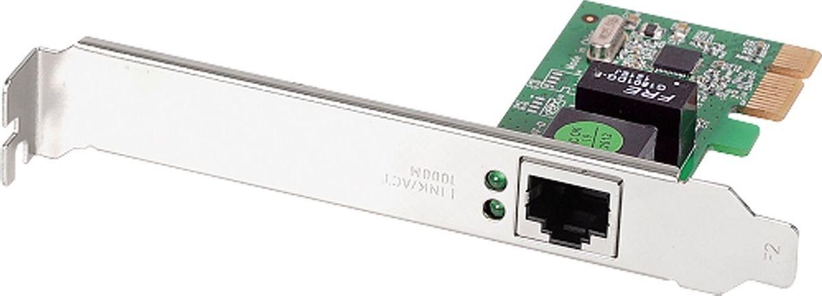 Edimax EN-9260TX-E Ethernet адаптерEN-9260TXE V2Сетевой адаптер Edimax EN-9260TX-E для ПК с PCI Express интерфейсом основан на новейших технологиях сетей Gigabit Ethernet и управления мощностью. EN-9260TX-E предоставляет надежную полноскоростную 1000 Мбит/с связь через PCI Express архитектуру. Нет необходимости в покупке нового коммутатора или маршрутизатора, благодаря свойству автоматической настройки, которое позволяет работать с существующим коммутатором или маршрутизатором на наибольших из доступных им скоростях связи (10/100 или 1000 Мбит/с ). Автоматическая опция Full Duplex еще более увеличивает ширину полосы и уменьшает столкновение пакетов, позволяя одновременную передачу данных в двух направлениях.Необычная элементная база EN-9260TX-E предоставляет увеличенную ширину полосы и большую функциональность по сравнению с другими PCI сетевыми адаптерами. Адаптер специально сконструирован для наибольшего соответствия ширине полосы 2.5 Гбит/с PCI Express шины, уменьшая столкновения пакетов и период ожидания по сравнению с существующей 32 и 64 битной PCI архитектурой.Модель дает возможность простой установки и гибкого конфигурирования адаптера с помощью Plug & Play технологии. Просто вставьте адаптер в PCI Express слот вашего ПК, включите компьютер и Plug & Play автоматически определит новое устройство.Адаптер полностью совместим с Ethernet, Fast Ethernet и Gigabit Ethernet сетями, свойство автоопределения скорости связи 10/100/1000 Мбит/с исключает необходимость в ручном переключении. И самое главное, адаптер поддерживается большинством операционных систем, включая Vista и Linux.Для облегчения сетевой установки к EN-9260TX-E прилагается дружественный пользователю CD мастер установки.Пользовательский интерфейс мастера упрощает и улучшает процесс установки для немедленного последующего использования устройства.
