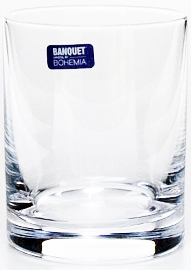 Набор стаканов для виски Banquet Crystal Degustation, 320 мл, 6 шт. 02B2G00132002B2G001320Стаканы для виски Banquet Crystal Degustation порадуют не только вас, но и ваших гостей. Они обладают привлекательным внешним видом, а материалом их изготовления является высококачественное хрустальное стекло. Они идеально подойдут для сервировки праздничного стола.