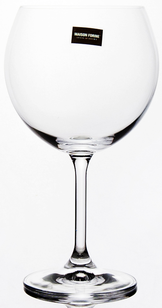 Набор бокалов для вина Banquet Crystal Leona, 480 мл, 4 шт набор бокалов crystalex ангела оптика отводка зол 6шт 400мл бренди стекло