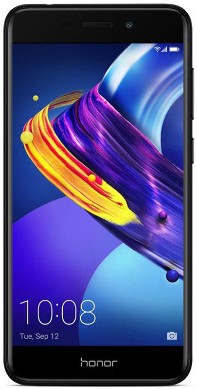 Huawei Honor 6C Pro, Black51091VUAHonor 6C Pro притягивает взгляды! Тонкий корпус, скругленные края и 2.5D стекло подчеркивают изящностьформ и компактный размер. Новый стильный и элегантный смартфон станет вашим умным помощником.Привлекательный дизайн - это результат кропотливой работы, состоящей из 13 этапов. 8 слоев покрытия итончайшая лазерная гравировка обеспечивают гладкую и приятную на ощупь текстуру корпуса. Зеркальныебоковые грани и матовые поверхности передней и задней панели создают удивительный контраст. Покрытиена боковые грани корпуса наносится с помощью специальной технологии вакуумного напыления с отражающимэффектом.Основная 13 МП камера с диафрагмой F2.2 и фронтальная 8 МП камера с поддержкой функции Украшениепомогут создать настоящие фотошедевры. Разнообразные возможности съемки позволят запечатлеть всеважные моменты вашей жизни.3 ГБ оперативной памяти, 32 ГБ встроенной памяти и поддержка карт памяти microSD (до 128 ГБ), а также мощный8-ядерный процессор обеспечивают высокую производительность смартфона в любых ситуациях.Новый интерфейс EMUI 5.1 предлагает более 2000 системных функций в 100 сценариях использования,поддерживает умное распределение ресурсов системы и оптимизацию ее работы.Батарея 3000 мАч с удельной энергоемкостью 650 Вт*ч/л и технология энергосбережения SmartPower 5.0обеспечивают эффективное энергопотребление, оптимизируя расход энергии на программном и аппаратномуровнях.Смартфон поддерживает до 14 часов просмотра видео и до 72 часов прослушивания музыки без подзарядки.Разблокировка смартфона за 0,4 секунды одним касанием. Данные получены в лаборатории Honor.Фактическое время разблокировки может отличаться.Новейший алгоритм обработки отпечатков пальцев, разработанный компанией Huawei, обеспечиваетвысочайшую степень защиты.Телефон сертифицирован EAC и имеет русифицированный интерфейс меню и Руководство пользователя.