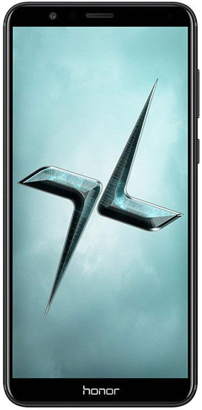 Huawei Honor 7X, Black51091YTXВ плане общего дизайна Huawei Honor 7X успешно сохранил облик предшественника. Вытянутый прямоугольный корпус из металла дополняется элегантным 2,5D-стеклом с фронтальной стороны.Безрамочный экран Honor 7X с разрешением 2160 x 1080 Full HD+ обеспечивает высочайшее качество изображений и удивительные визуальные эффекты.Тонкий и компактный корпус Honor 7X оснащен экраном 5,93. Скругленные края корпуса и эргономичная форма смартфона обеспечивают удобство его использования.Игры на смартфоне никогда не были столь увлекательными! Соотношение сторон экрана Honor 7X – 18:9. Это дает множество преимуществ любителям игр, привыкших к стандартному соотношению 16:9.Теперь вы можете одновременно смотреть фильм и общаться с друзьями. Включите режим нескольких окон и общайтесь с друзьями в WhatsApp, не прекращая просматривать новости в интернете.Двойная основная камера 16 Мпикс + 2 Мпикс позволяет запечатлеть все важные моменты вашей жизни в великолепном качестве и почувствовать себя настоящим фотографом. Режим портретной съемки Honor 7X позволяет делать удивительные портретные снимки, а технология фазовой фокусировки PDAF и новый алгоритм обработки фото обеспечивают ультра быструю скорость фокусировки камеры.Фронтальная 8 Мпикс камера поддерживает широкий набор визуальных эффектов, позволяющих делать прекрасные селфи. Ваши друзья обязательно обратят на них внимание в социальных сетях! Функция управления жестами открывает новые возможности фронтальной камеры: помашите рукой, чтобы запустить обратный отсчет и сделать селфи.Высочайшая производительность смартфона обеспечивается 8-ядерный процессором Kirin 659 2,36 ГГц, 4 ГБ RAM и интерфейсом EMUI 5.1. Одновременная работа большого количества приложений не снижает производительность Honor 7Х. Умная оптимизация работы и удобное управление файлами предлагают пользователям новый стандарт производительности для смартфонов с ОС Android.Мощная батарея 3340 мАч и технология энергосбережения, поддерживаемая проце