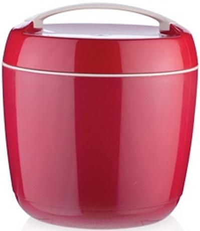 Прекрасно подходит для длительного хранения и переноса теплой и холодной пищи.  Двустенная емкость с высокоэффективным термоизоляционным вкладышем сохраняет пищу достаточно теплой или холодной в течение нескольких часов, при обычном использовании.  Термоконтейнер небьющийся. С вынимаемой емкостью 1,0 л для отдельного хранения закусок, гарниров и т.п.  Изготовлено из высококачественного прочного пластика, пластиковая емкость с крышкой пригодна для мытья в посудомоечной машине.Термоконтейнер НЕпригоден для мытья в посудомоечной машине.