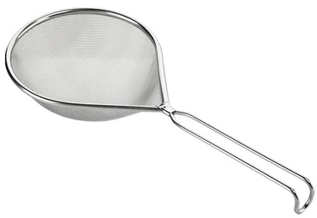 Сито Tescoma GrandCHEF, цвет: серебристый, 14 x 18 cм428390Сито Tescoma GrandCHEF изготовлено из высококачественной нержавеющей стали.Можно мыть в посудомоечной машине.