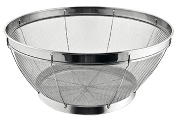 Корзинка для процеживания Tescoma GrandCHEF, цвет: серебристый, диаметр 20 cм428530Отлично подходит для процеживания, ополаскивания и слива макаронных изделий, овощей, фруктов и так далее. Подходит как пароварка в кастрюлю или как сервировочная корзинка. Изготовлено из высококачественной нержавеющей стали. Можно мыть в посудомоечной машине. 3-летняя гарантия.