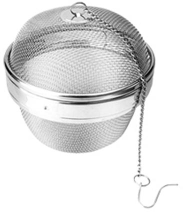 """Корзинка для приготовления бульонов Tescoma """"GrandCHEF"""" отлично подходит для приготовления бульона из специй, трав, овощей и так далее.  Изготовлена из высококачественной нержавеющей стали.  Можно мыть в посудомоечной машине."""