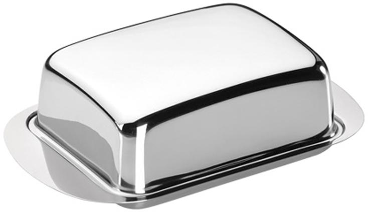 Масленка Tescoma GrandCHEF, цвет: серебристый, 17 х 11 х 5,5 см428630Масленка Tescoma GrandCHEF - отличный выбор для сервировки стола.Она состоит из подноса и крышки.Невероятно стильная, выполненная из высококачественной нержавеющей стали, она придаст особую изюминку к сервировке стола и станет свидетельством наличия хорошего вкуса хозяев. Масленка Tescoma GrandCHEF прекрасно подходит не только для домашнего использования, но и для ресторанов премиум-класса. Можно мыть в посудомоечной машине.