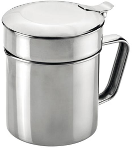"""Контейнер Tescoma """"GrandCHEF"""" отлично подходит для процеживания и хранения использованного масла на кухне. Дополнено ситом для отделения мелких остатков пищи из масла после жарки. Изготовлено из высококачественной нержавеющей стали.  Можно мыть в посудомоечной машине."""
