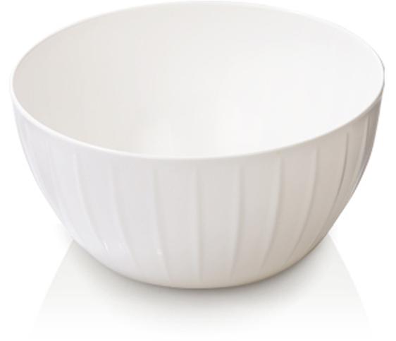 Миска Tescoma Delicia, цвет: белый, 1,5 л630360.11С линией Tescoma Delicia вам не нужно тратить время на поиск подходящих друг другу товаров – все продукты выполнены в одном стиле.Поэтому, вам не обойтись без миски для смешивания продуктов – одного из самых необходимых и функциональных видов посуды.В ней можно перемешивать и взбивать, а устойчивое дно не будет скользить по поверхности стола. Сделано из высококачественного прочного пластика, подходит для микроволновой печи и посудомоечной машиной. Гарантия 3 года.